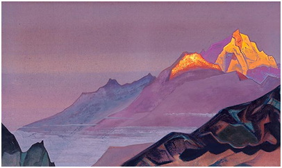 """""""Path to Shambala"""" Nicholas Roerich"""
