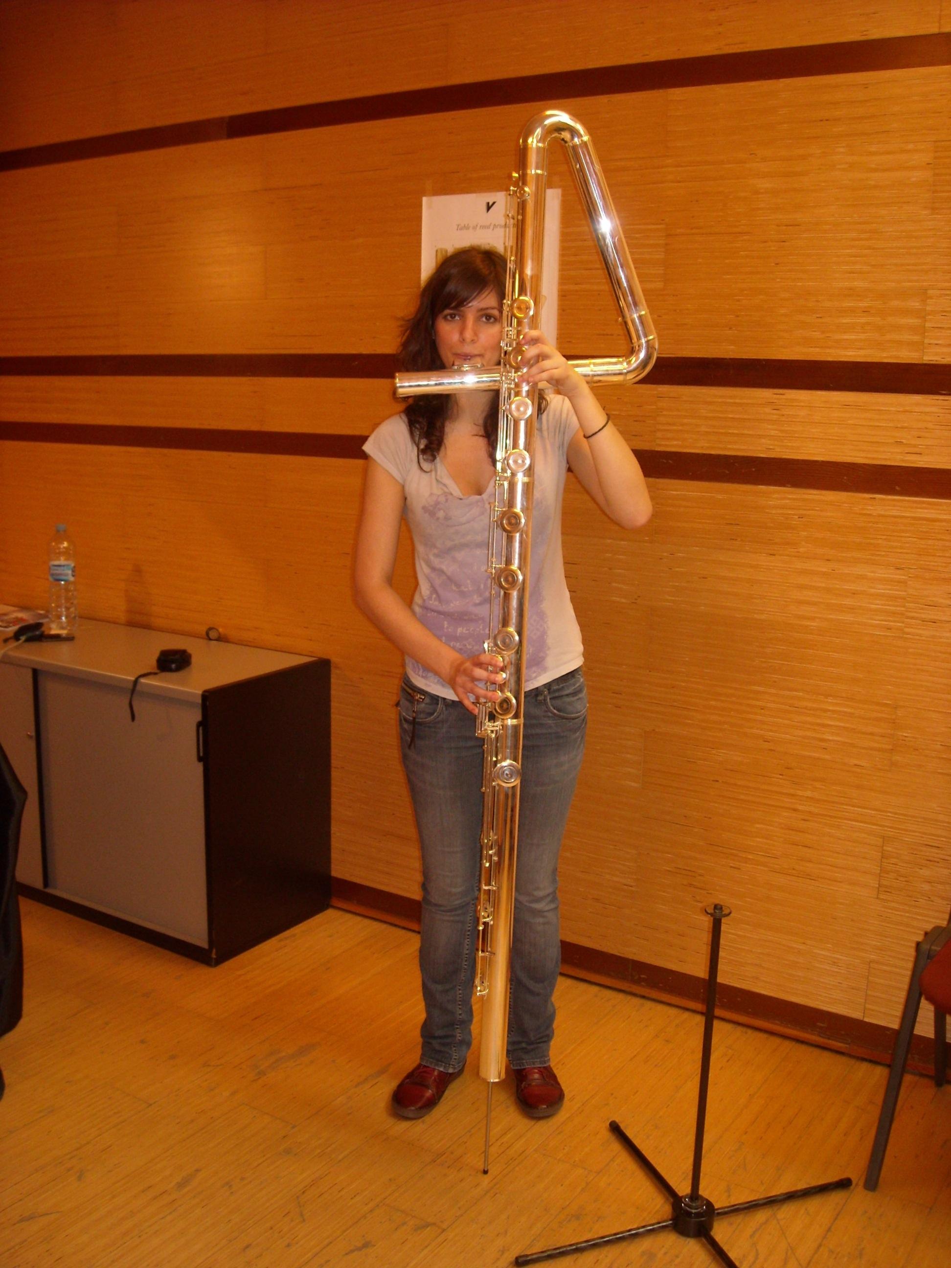 Flauta contrabajo