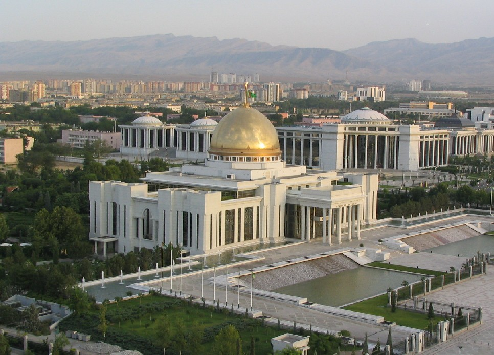 Palacio Presidencial en Ashgabat