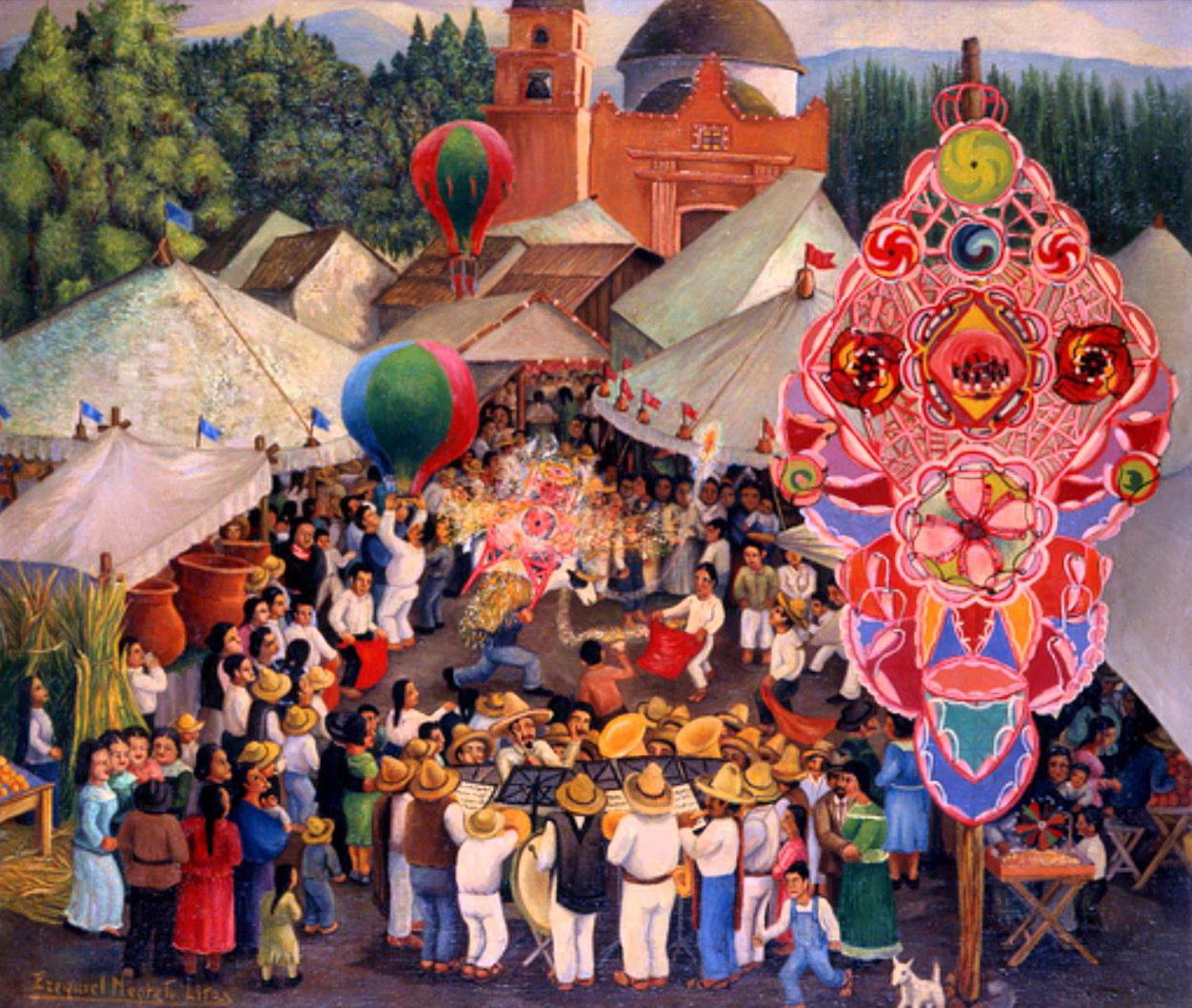 Feria de San Juan por Ezequiel Negrete Lira