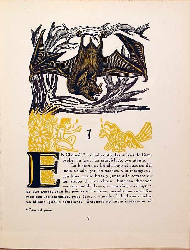 Primera página de la obra de Juan de la Cabada