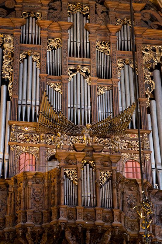 Órgano de la Catedral de Barcelona