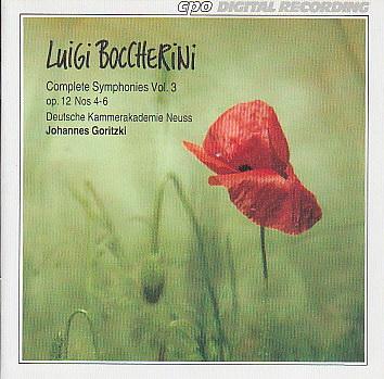 Boccherini CD 3
