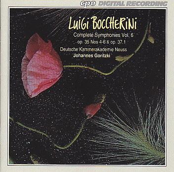 Boccherini CD 6