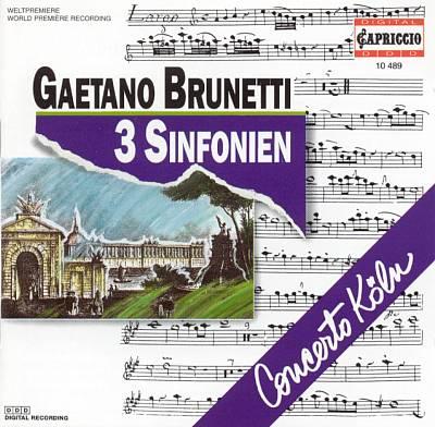BRUNETTI CD