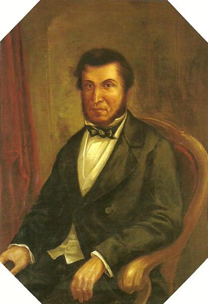 Charles Guigou pintado por Cirilo Truilhe