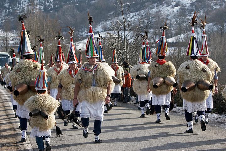 Carnavales en Ituren y Zubieta.Navarra